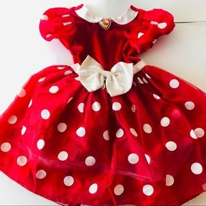 Infant Disney Minnie Mouse dress ( approx 3t )